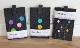 Smartphone-Schutzhülle Taschenfilz