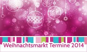 Weihnachtsmarkt Termine 2014