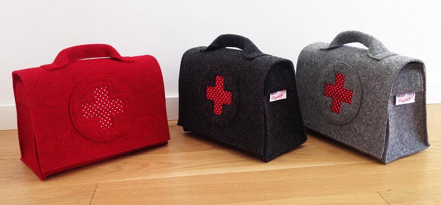Arztkoffer Arzttasche,für Kinder, Reiseapotheke